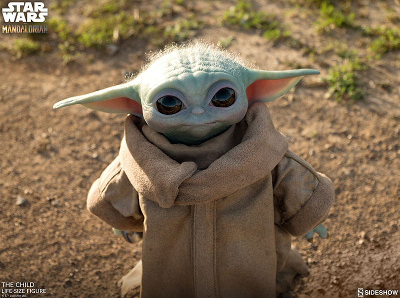 life size baby yoda figure 7 I Need this Life Size Baby Yoda Figure in My Life (11 Photos)