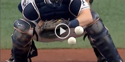 Why Hitting is Hard: Overlaying a 94 mph Fastball and an 80 mph Curveball