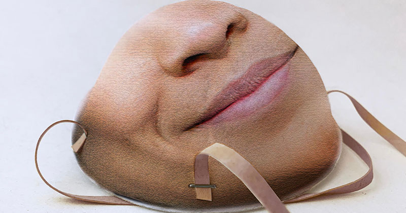 You Can Now Print Your Face Onto a Mask So You Can Still Unlock Your Phone
