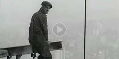 Amazing Footage from 1929-30 of Construction Workers on the Historic ChryslerBuilding