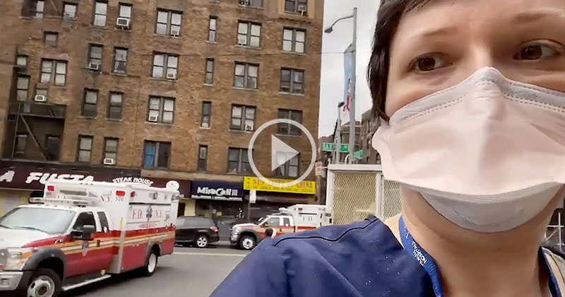 ER Doctor Gives Rare Look Inside the NYC Hospital at the Center of the Pandemic