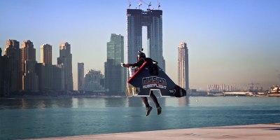 Seeing This Guy Take Flight is Like Watching a Superhero Movie in RealLife