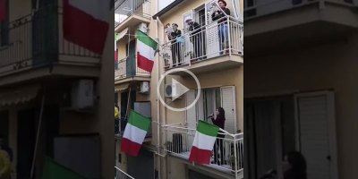 Italians Under Quarantine Singing from their Balconies to Lift Spirits and Feel Connected