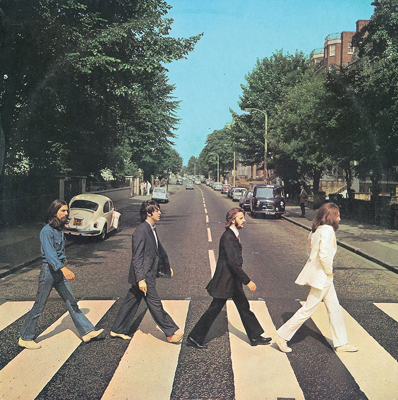abbey road gets repainted 1 Lockdown in London Lets Abbey Road Get a Fresh Coat of Paint
