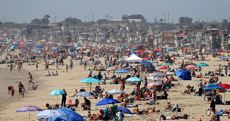 This Photo of Newport Beach from this Past Weekend is JustWow