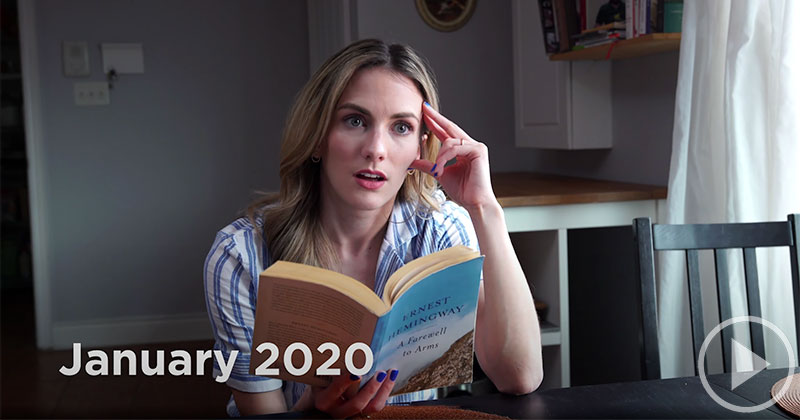 Comedian Explains the Pandemic to Her Past Self From 100 DaysAgo