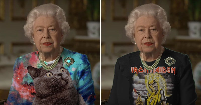The Queen Wore Another 'Green Screen' Outfit and the InternetRejoiced