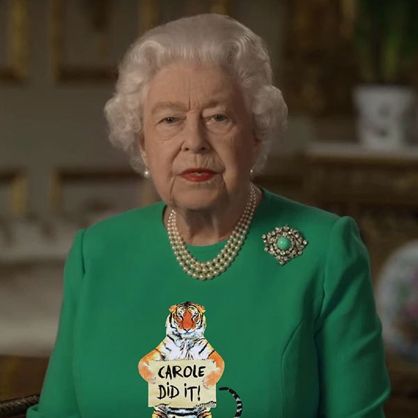 green screen queen photoshop green top 18 The Queen Wore Another Green Screen Outfit and the Internet Rejoiced
