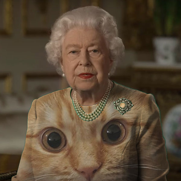 green screen queen photoshop green top 24 The Queen Wore Another Green Screen Outfit and the Internet Rejoiced