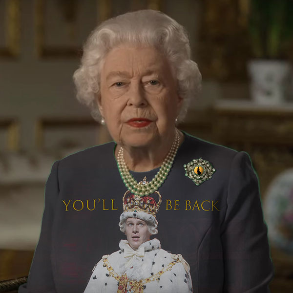 green screen queen photoshop green top 3 The Queen Wore Another Green Screen Outfit and the Internet Rejoiced