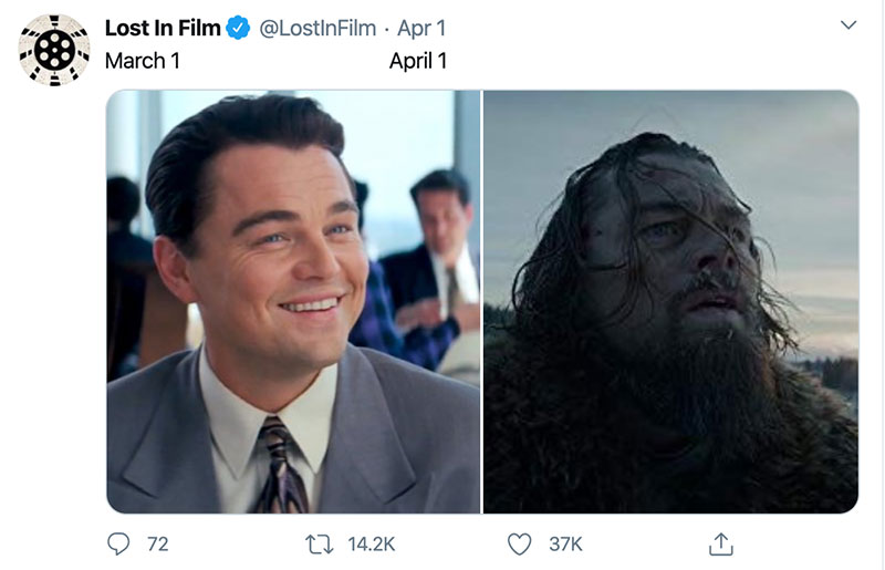 "march 1 vs march 31 april 1 meme best of 38 These ""March 1 vs April 1"" Posts Perfectly Capture How Intense the Last Month Was"
