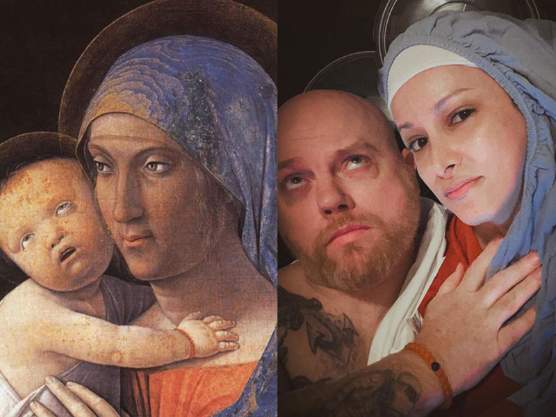 people recreating famous paintings at home getty museum challenge 11 People Stuck at Home are Recreating Famous Paintings and Its Awesome