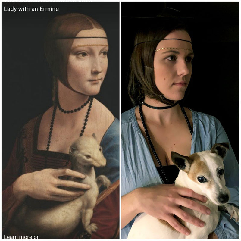 people recreating famous paintings at home getty museum challenge 31 People Stuck at Home are Recreating Famous Paintings and Its Awesome