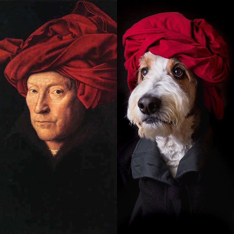 people recreating famous paintings at home getty museum challenge 51 People Stuck at Home are Recreating Famous Paintings and Its Awesome