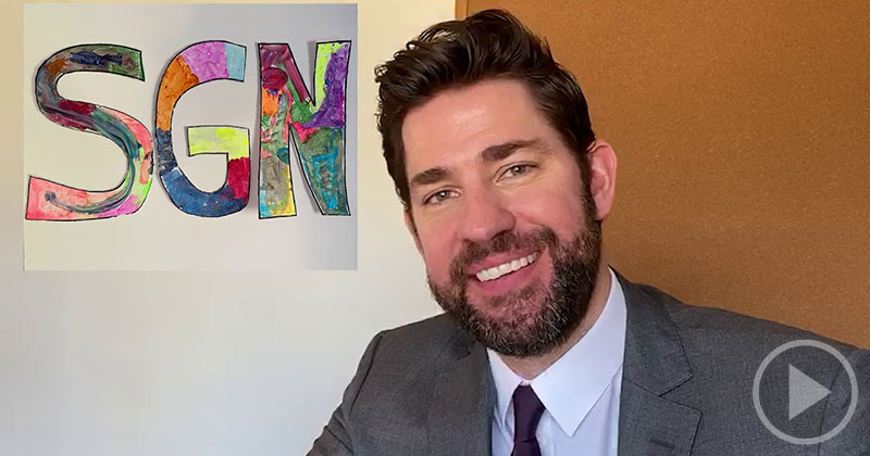 John Krasinski is Back with Another 15 Minutes of Some GoodNews