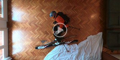 This Guy's Ski Trip Got Cancelled So He Made a Stop Motion Ski Film atHome