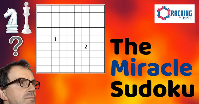I Never Thought I Would Watch Someone Solve a Sudoku, But This WasBeautiful