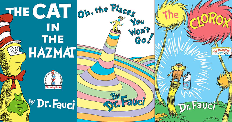 Someone Update These Classic Dr. Seuss Book Covers and They're Great
