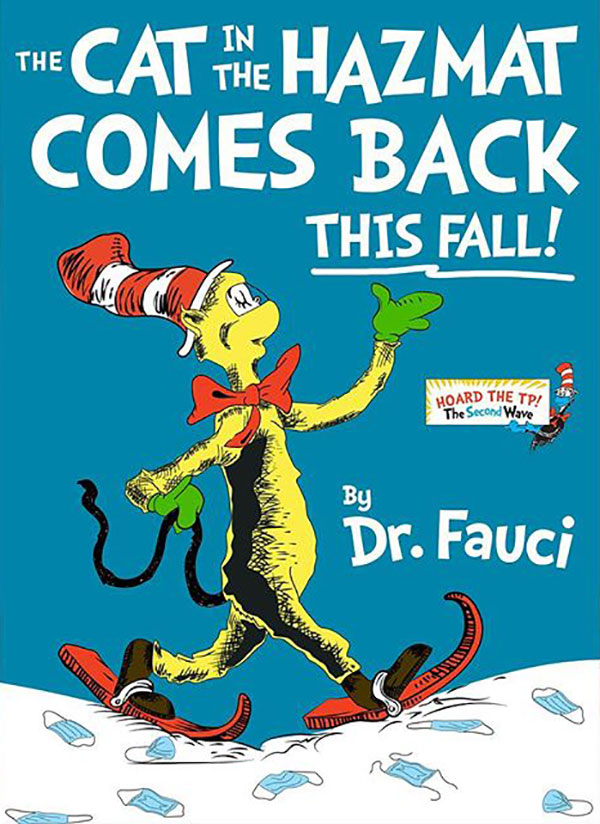 dr seuss book covers updated remixed pandemic by jim malloy 5 Someone Update These Classic Dr. Seuss Book Covers and Theyre Great