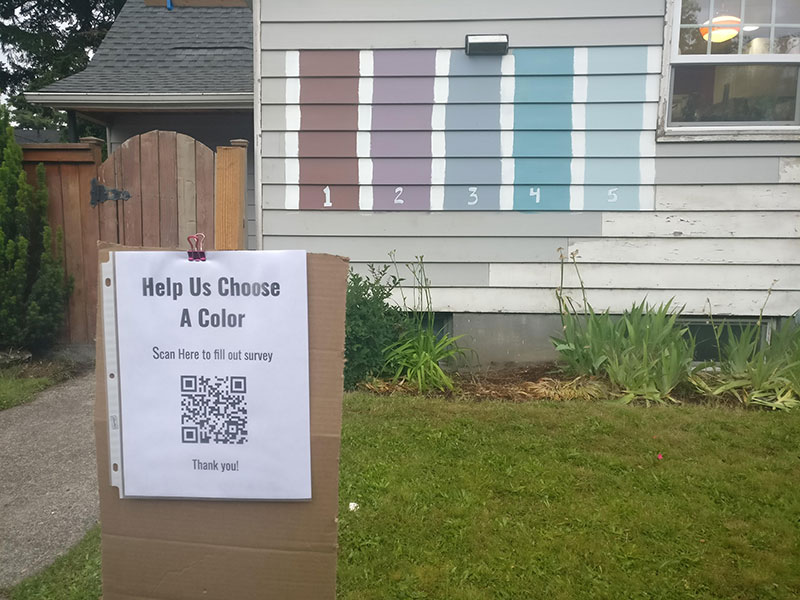 hilarious home owners create survey to help choose next house color 2 Hilarious Home Owners Create Survey to Help Choose Next House Color