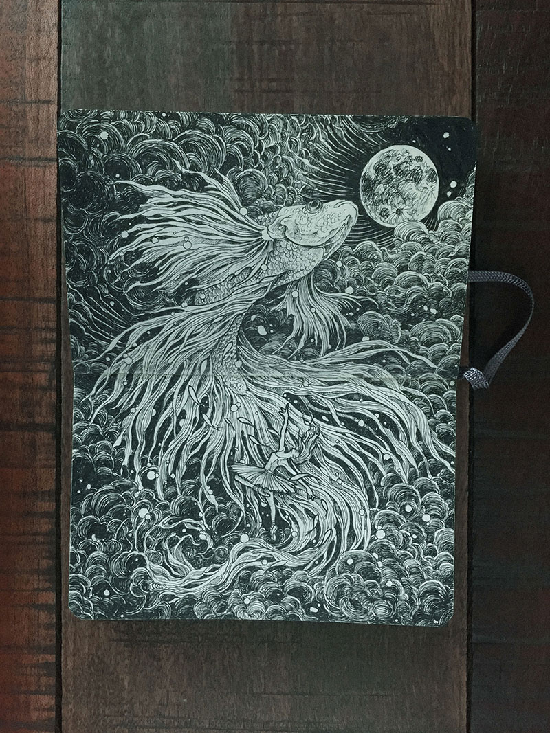 kerby rosanes sketchbook illustrations 12 Kerby Rosanes Sketchbooks are Beautiful Works of Art Unto Themselves