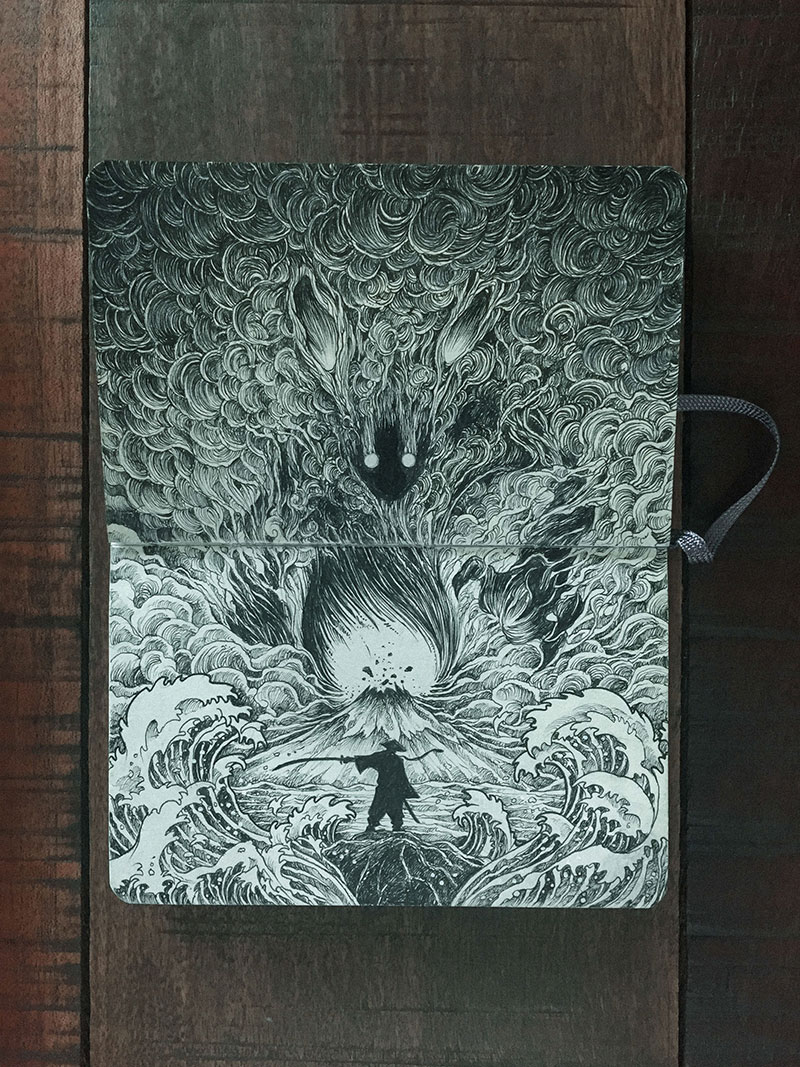 kerby rosanes sketchbook illustrations 14 Kerby Rosanes Sketchbooks are Beautiful Works of Art Unto Themselves