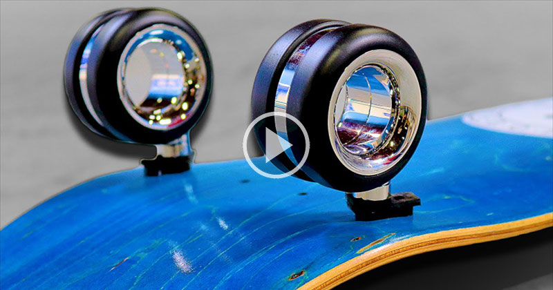 Putting Apple's $700 Computer Wheels on a Skateboard and Trying aKickflip