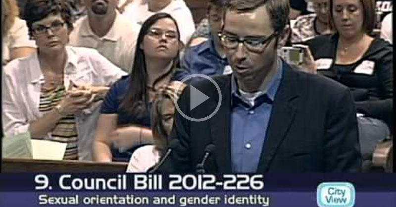 Missouri Preacher Speaks Out Against Gay Rights and Then… Wait For It