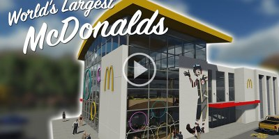 So the World's Largest McDonald's is Crazy (and Serves Pizza andPasta)