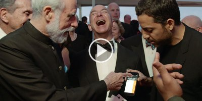 David Blaine Does Awesome Magic, but People Can't Get Over Bezos' Maniacal Rich Guy Laugh