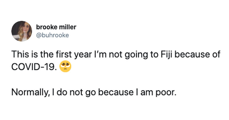fiji covid tweet funny The Shirk Report – Volume 588