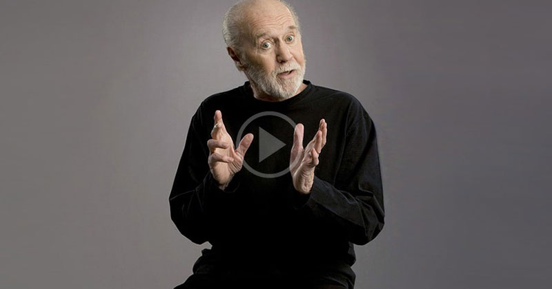 """George Carlin's """"Modern Man"""" is Still as Good Today as it was in2005"""