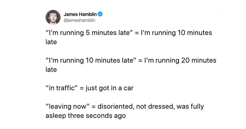 guide to lateness hamblin The Shirk Report – Volume 586