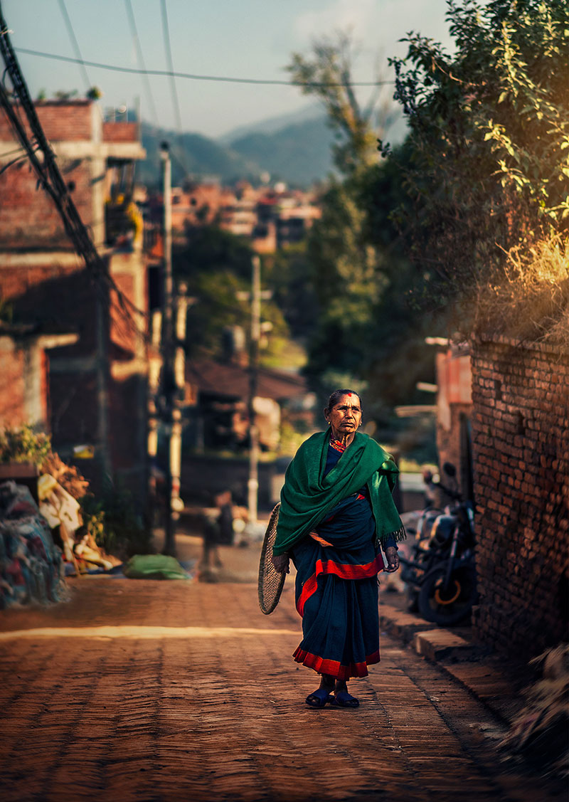 kathmandu street photography by ashraful arefin 11 The Lighting in this Kathmandu Street Photography Series is Beautiful