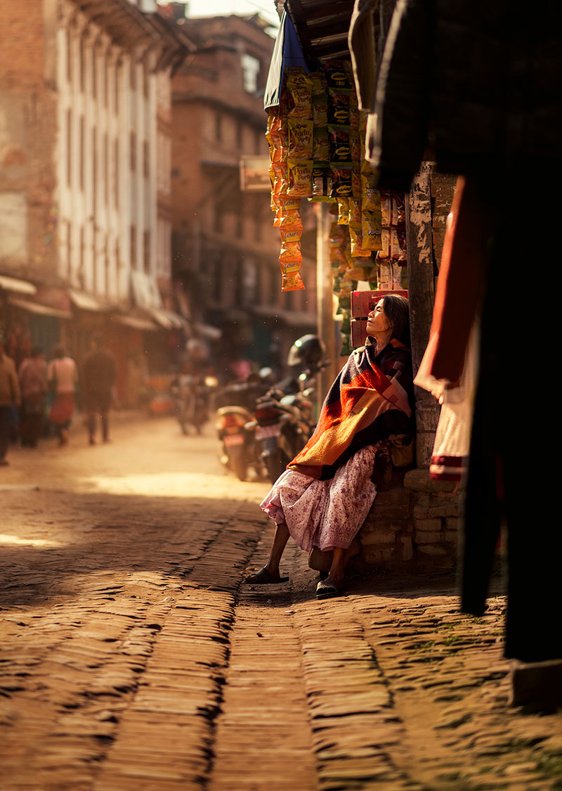 kathmandu street photography by ashraful arefin 15 The Lighting in this Kathmandu Street Photography Series is Beautiful