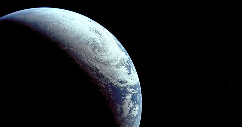 Just a Beautiful Photo of Earth Taken in 1967 from 18,000 km Away «TwistedSifter