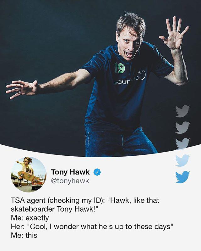 tony hawks stories of his random encounters are delightful 6 Tony Hawks Twitter Stories of His Random Encounters are Delightful