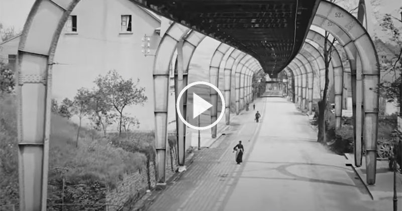This Video of Germany in 1902 was Taken from a Flying Train and the Quality isIncredible