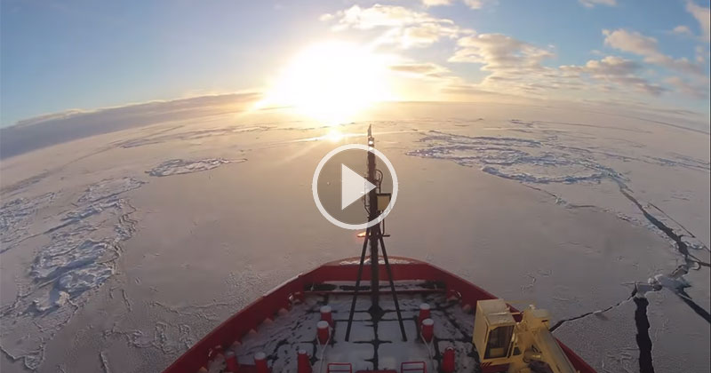 This 5 Minute Timelapse Shows a 2-Month Journey on an Icebreaker inAntarctica