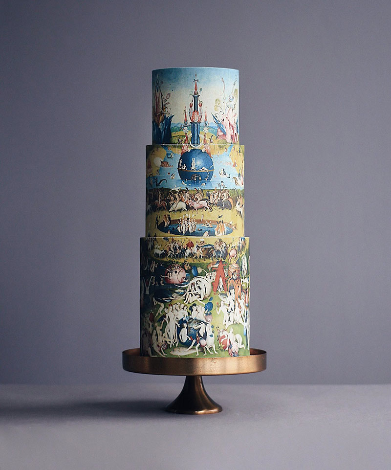 art cakes by tortik annushka 12 This Design Studio Makes Works of Art that Just So Happen to be Cakes