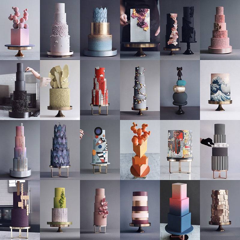 art cakes by tortik annushka 19 This Design Studio Makes Works of Art that Just So Happen to be Cakes