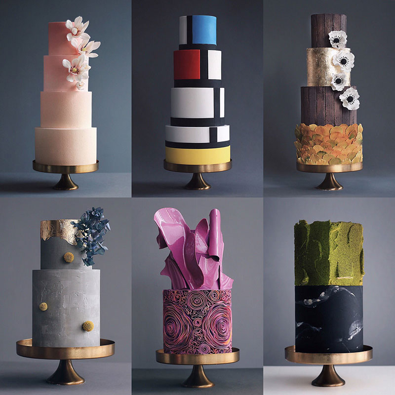 art cakes by tortik annushka 6 This Design Studio Makes Works of Art that Just So Happen to be Cakes