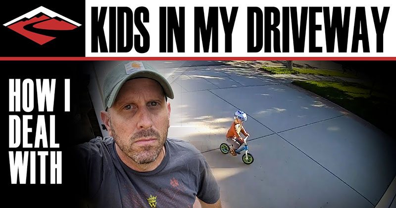 This Guy Found the Perfect Way to Deal with Kids Playing in HisDriveway
