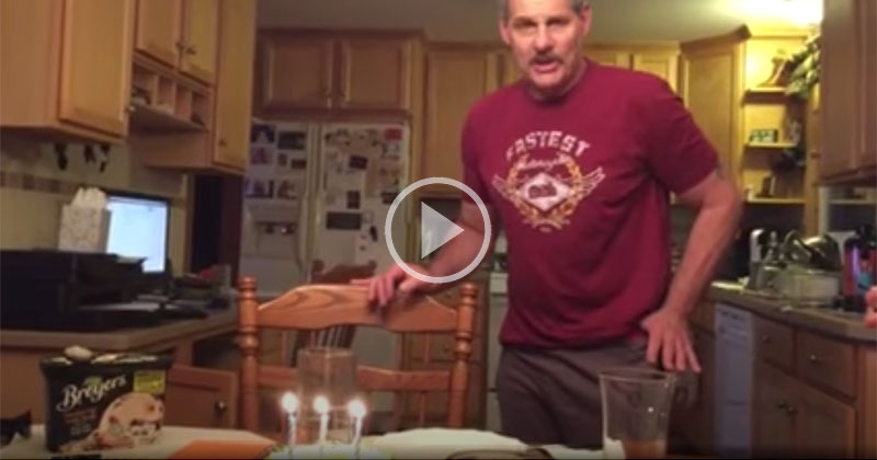 4 Years Ago a Man Ahead of His Time Envisioned a Better Way to Blow Out Birthday Candles