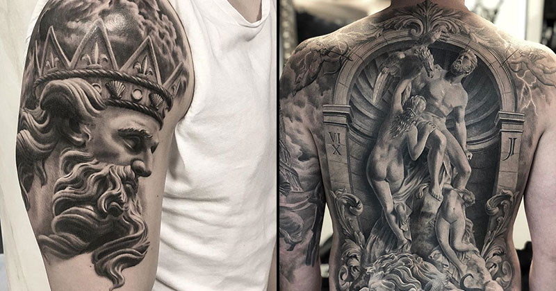 These Ancient Greek and Roman Art Tattoos areAmazing