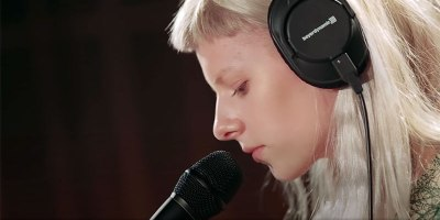 Norwegian Singer-Songwriter AURORA Delivers Stunning Cover of 'Teardrop' by MassiveAttack