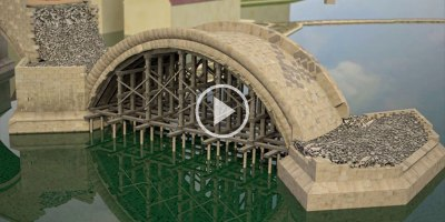 This Animation of How Bridges Were Constructed in 14th Century Prague isAmazing