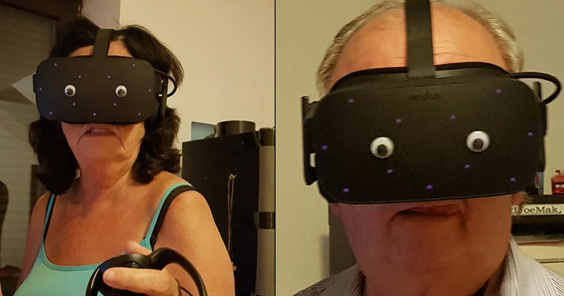 goggly eyes on vr headset The Shirk Report – Volume 598