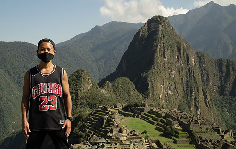 japanese tourist stranded in peru since march gets machu picchu all to himself 5 Japanese Tourist Stranded in Peru Since March Gets Machu Picchu All to Himself