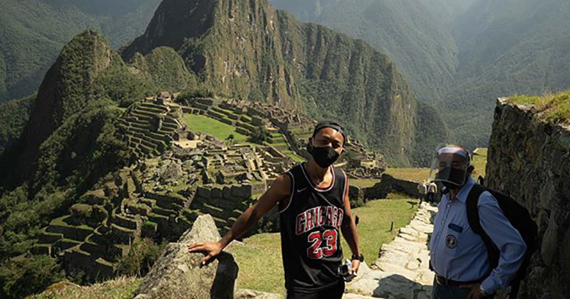 Japanese Tourist Stranded in Peru Since March Gets Machu Picchu All to Himself